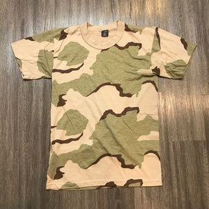 Vintage Swing Desert Camo S/S T-Shirt Sz M Made US